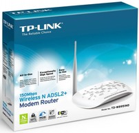 Modem Router + Adsl2 Wireless 150 Mbps Tp-Link TD-W8951ND