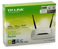 Router Wireless 300 Mbps Tp-Link TL-WR841N